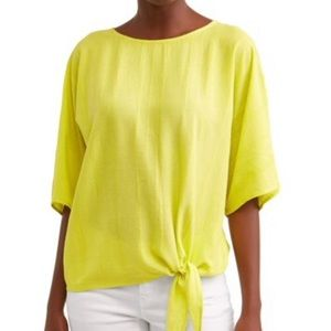 Time and Tru women's Side Tie Blouse